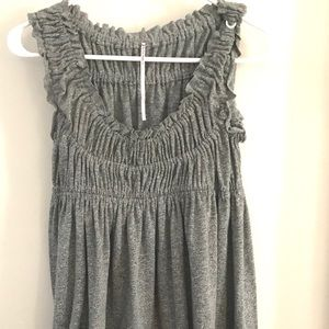 Free people gather dress size S grey color